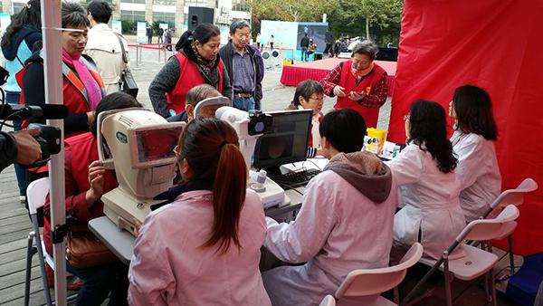 沪建糖尿病眼病防治模式 20万糖尿病患者有了眼健康档案