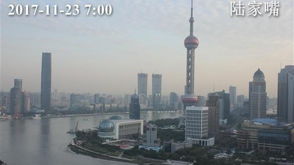 上海今最高温仅12℃ 最低7℃ 天气晴好