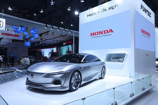 【广州车展】Honda亮相广州车展 尽现FUNTEC技术魅力