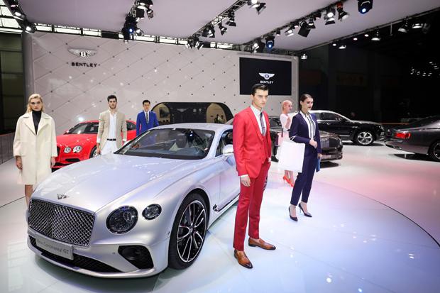 【广州车展】宾利汽车全新欧陆GT广州车展华丽首秀 重新定义超豪华运动旅行座驾