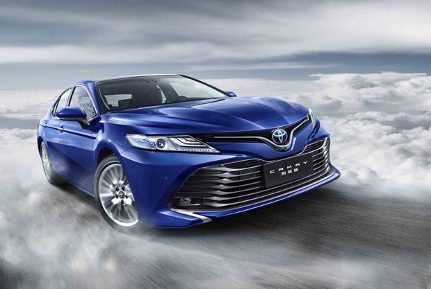 【广州车展】TNGA中国首款战略轿车 全新第八代凯美瑞耀世登场