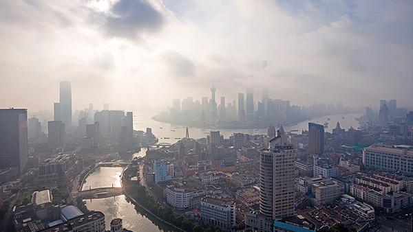 申城双休日气温回升 最高温度16°C