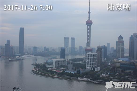 上海今仍有霾 最高温度17℃ 下周二开始转阴雨