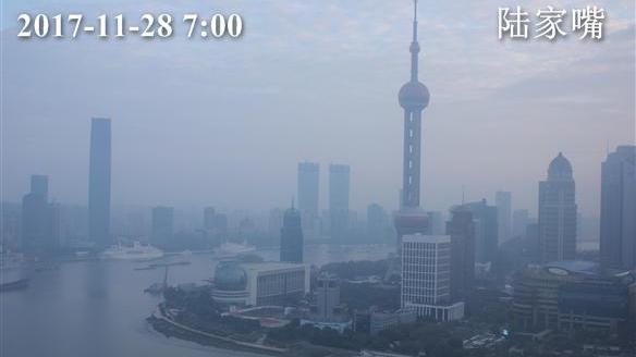 上海今有短时小雨最高温18℃  周中迎降水降温