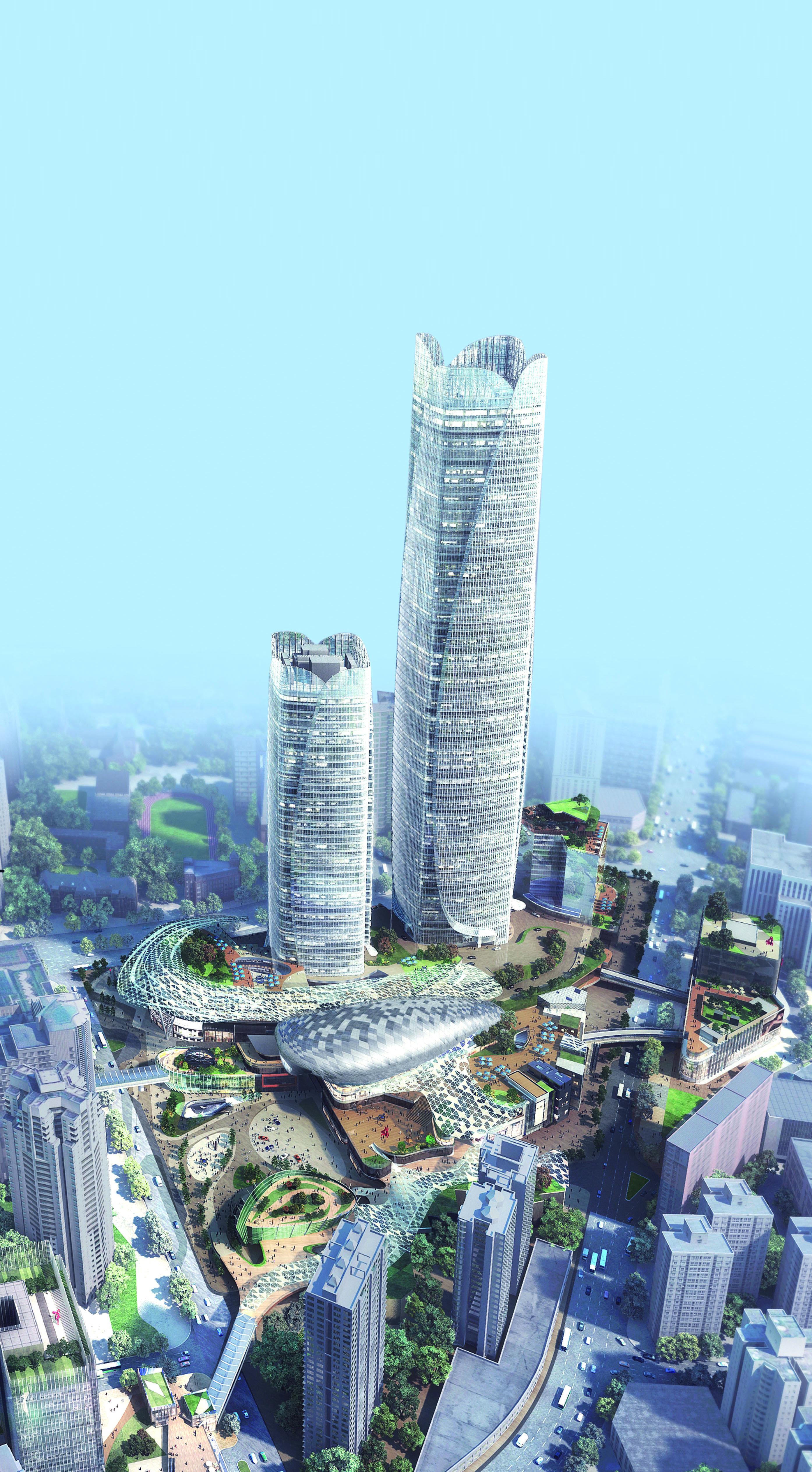 上海徐家汇国贸中心(ITC)荣膺2017亚洲国际房地产金奖