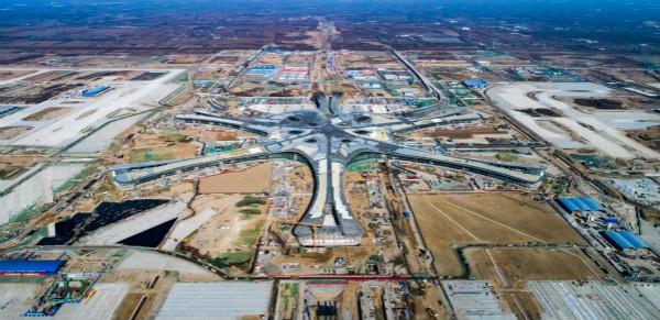 最新航拍图 | 北京新机场建设全面稳步推进