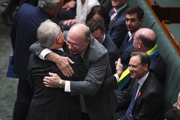 澳大利亚议会通过同性婚姻法案 将写进该国法律