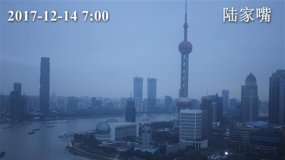 申城今日阴时有小雨 气温保持在7-9℃