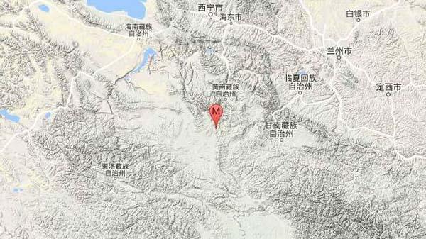 青海黄南州泽库县发生4.9级地震 震源深度7千米