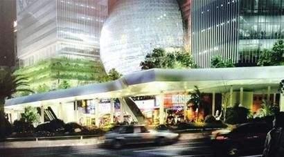 徐家汇空中连廊启动建设 预计2020年竣工