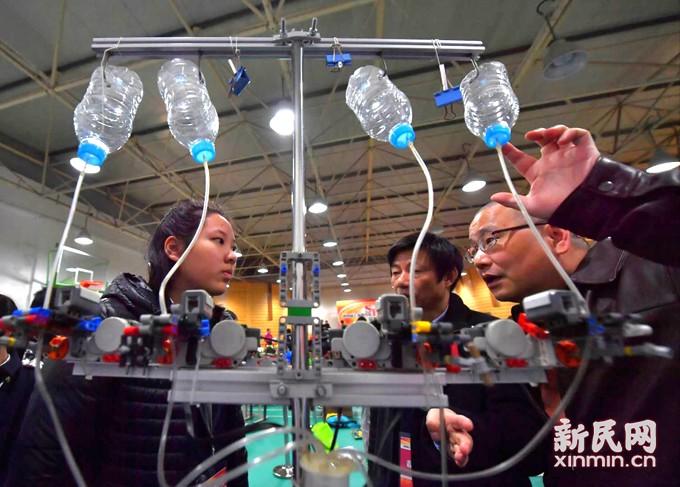 让科学创意遇上工程实践 少年工程师大比拼