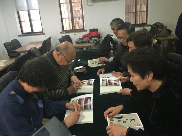 精武举办王培锟总教练《武林拾穗》发行签名活动