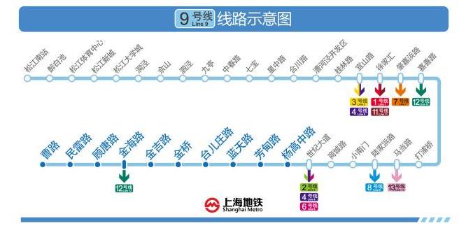12月30日本周六起沪9号线三期、17号线载客试运营