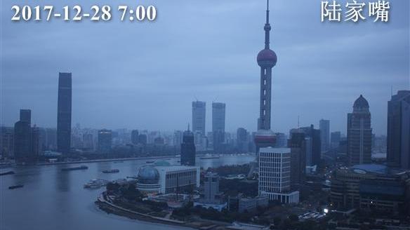上海今天阴转雨最高温11℃ 周末将迎降温