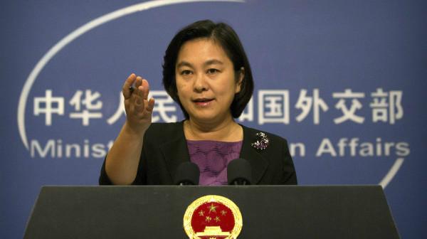 外交部:有关中国船只向朝鲜船只输送石油报道不实