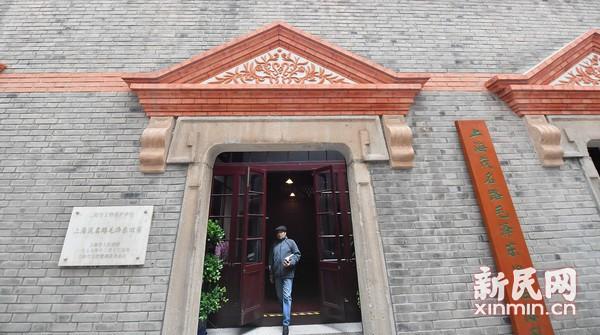 毛泽东旧居重修后上午迎来首批参观者