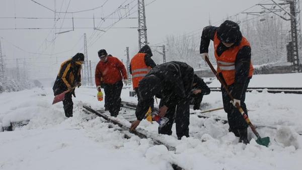 最新消息!受降雪影响铁路部分沪发列车停运
