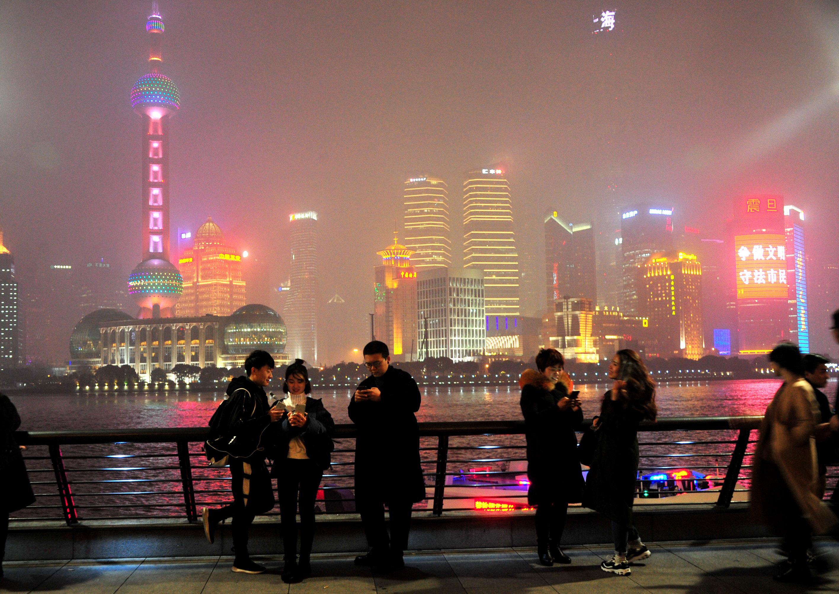 雾散霾来,申城又拉空气重污染蓝色预警