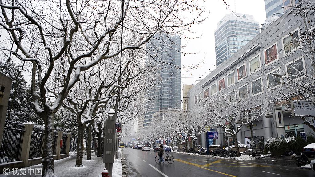 上海今天多云有轻度霾 周二起连续降温或有雨雪