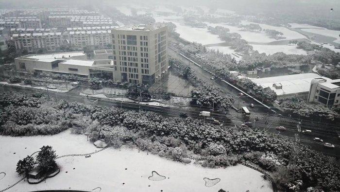上海人花式晒雪大赛正式开始!