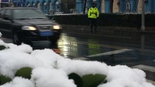 因道路结冰今天上海大路考停考 可顺延考试