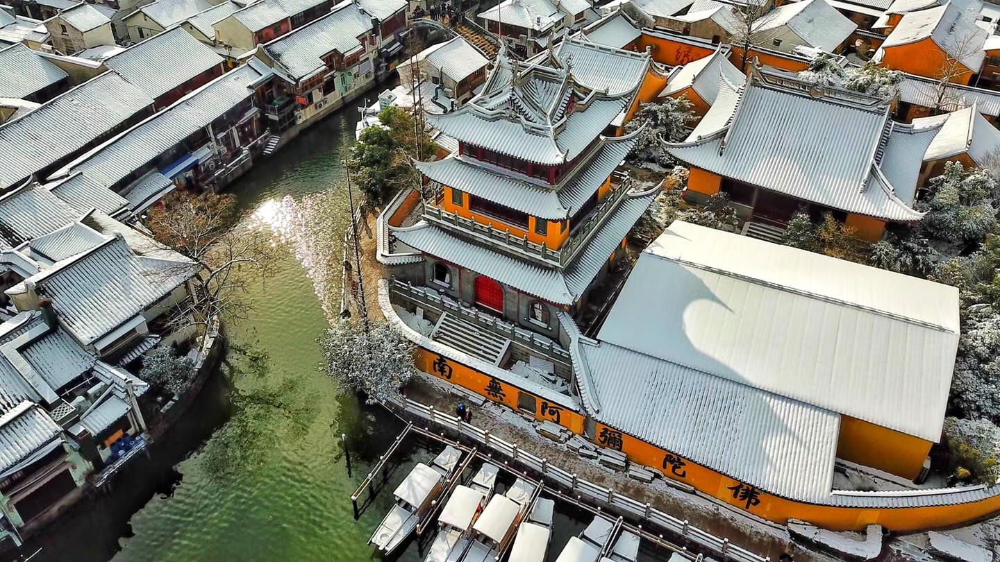 十年一遇的美!据说会玩的上海人都跑去这些地方赏雪啦!