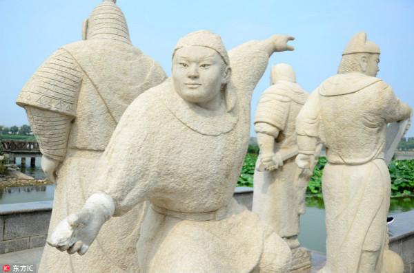 """宁波梅山岛有个""""武术村"""" 舞刀弄棒两百年"""