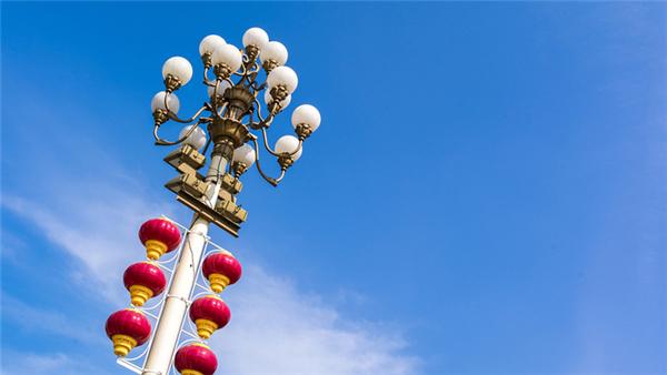 长安街华灯有故事:灯型为周总理亲自挑选,光源多次升级改造