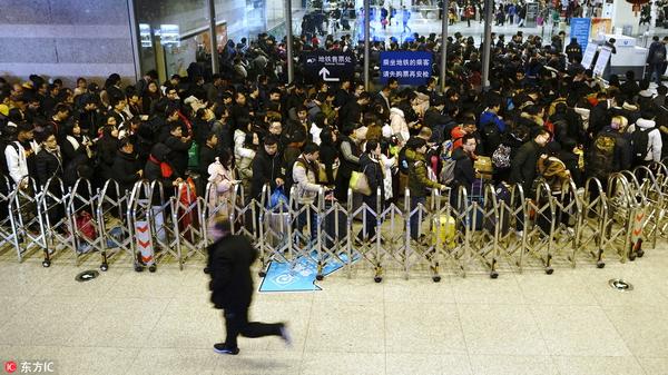 直播回放 | 看上海虹桥火车站应对深夜返程大客流