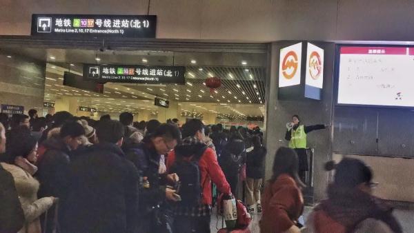 今晚上海2、10号线虹桥火车站站为你加班延时