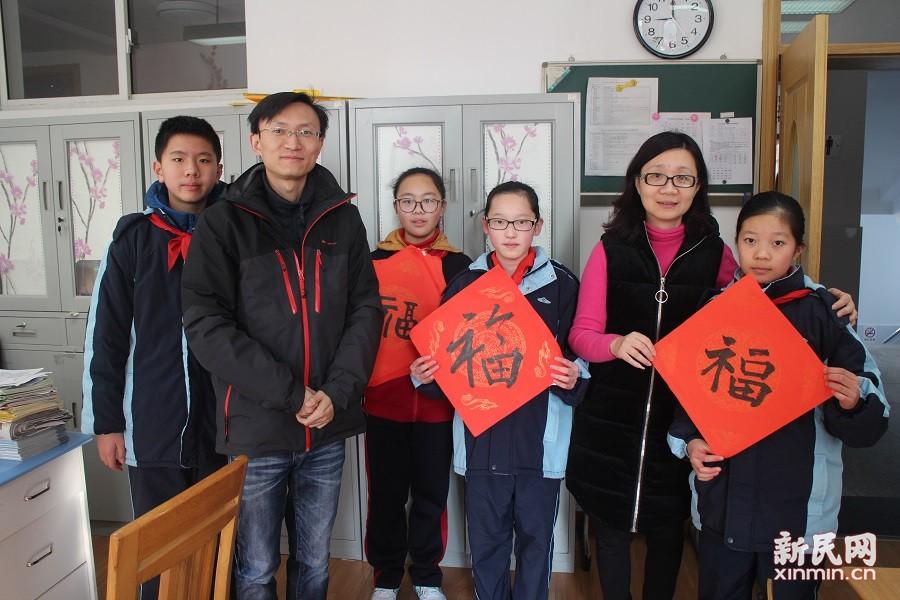 洛川学校:弘扬传统文化 装扮新年新貌