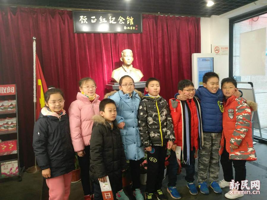 上外尚阳学校探访上海纺织博物馆及上海顾正红纪念馆