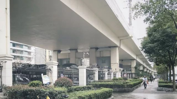 """上海延安高架、轨交""""桥下空间""""拟更新!改造方案征集中"""