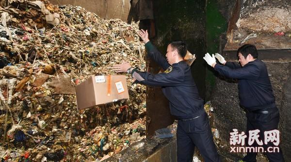 上海检验检疫局对不合格进口消费品集中销毁