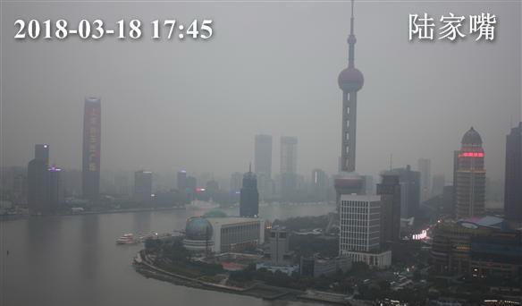 上海今日有雨 最高温度11℃