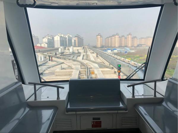 不设驾驶室!上海首条无人驾驶APM线路体验报告来啦