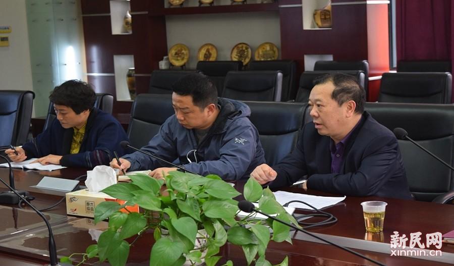 遵义市教育局领导一行来到奉贤中学考察