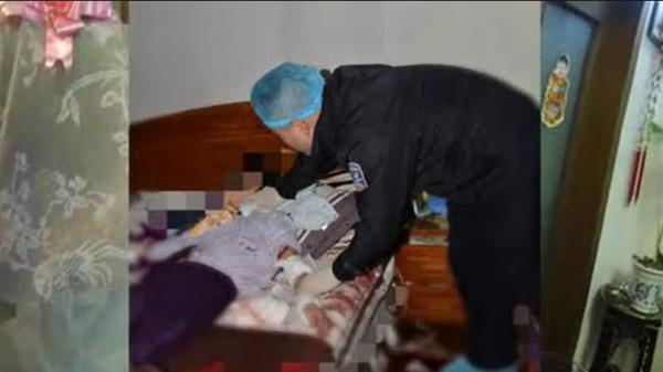 """闵行一阿婆轻生家属报警 法医检查""""遗体""""时发现还有呼吸:快!快救人!"""