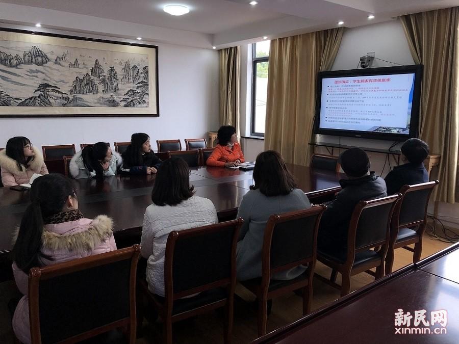 张堰小学举行学生近视干预项目工作推进会议