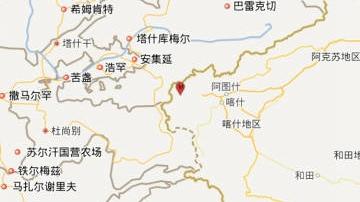 新疆乌恰发生4.9级地震