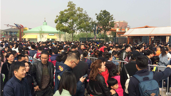 上海迪士尼乐园今迎大客流 已停止现场售票 全天客流或逾8万
