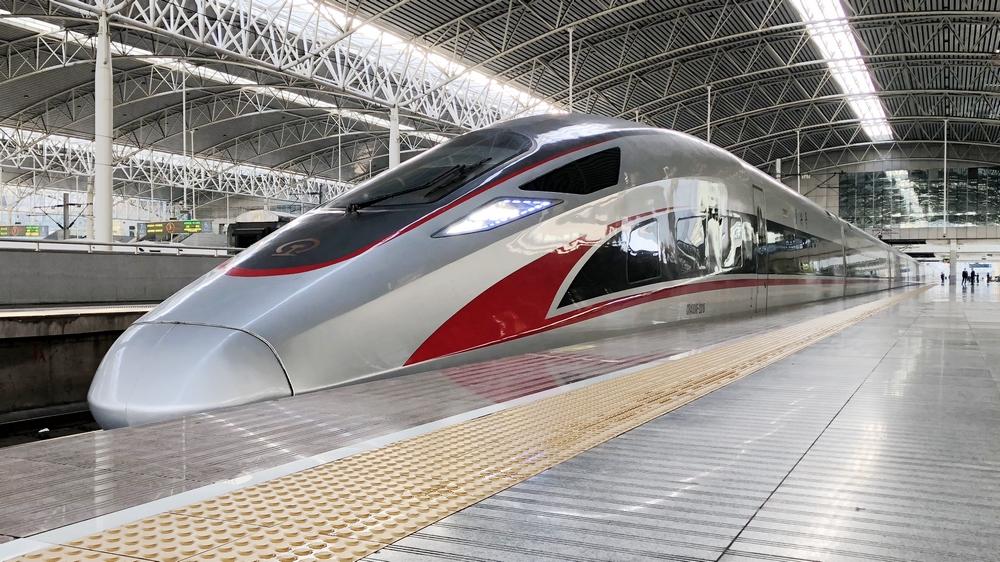 上海站首开复兴号京沪高铁 四个多小时即到北京