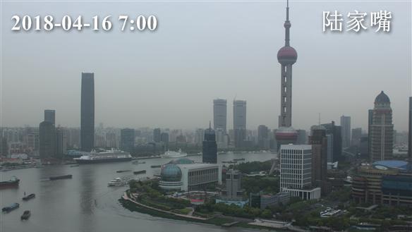 上海今天晴最高温18度 本周晴多雨少气温逐步走高