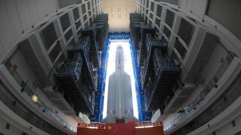 长征五号遥二火箭故障已排查 遥三火箭今年底将发射