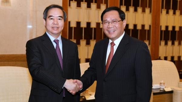 李强会见越共代表团:分享改革开放经验 加强各领域合作交流