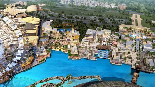 中国最大室内单体家庭娱乐中心落户三亚 年底开园
