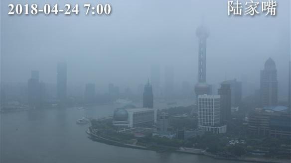 大风降温 上海今最高温16℃ 下午雨止转阴