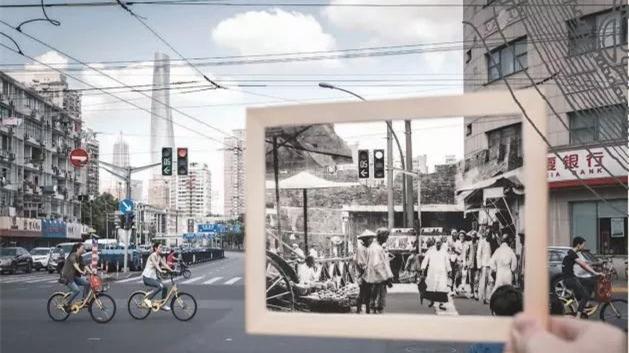 一组穿越时光的照片,带你看看上海老城厢的前世今生