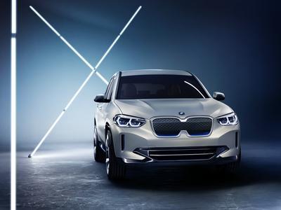 全新BMW iX3概念车全球首发