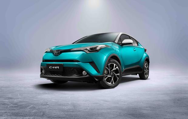 丰田全球战略SUV C-HR首发 TNGA产品家族闪耀北京车展